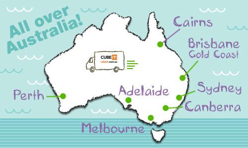 CUBE IT! Australia | BRISBANE/GOLD COAST | Overseas Removal Services